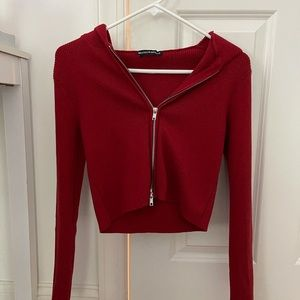 brandy melville hooded sweater